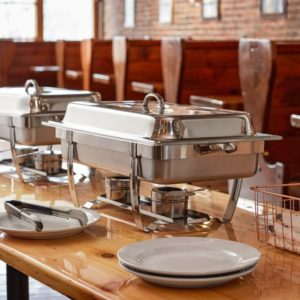 Chaffer dishes